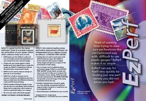 Ezperf: Stamp Perforation Measurement Software