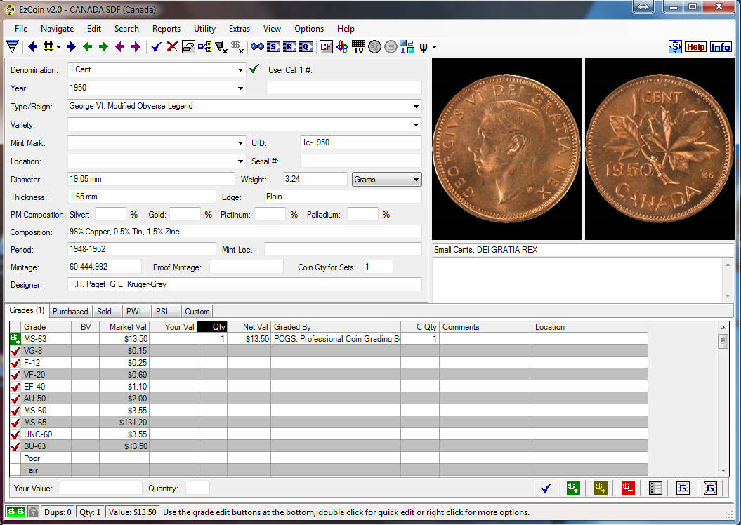 coins software