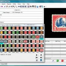 Stamp Database Software - EzStamp Main Scree