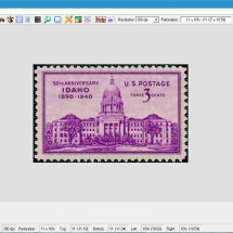 stamp perforation software
